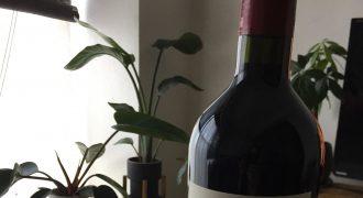 赤ワインの瓶