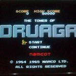 ドルアーガの塔のゲーム画面