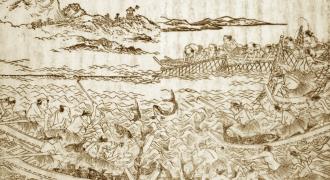 日本の伝統的マグロ漁