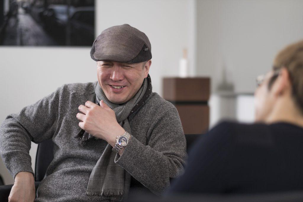 和食について語る料理人・髙木慎一郎