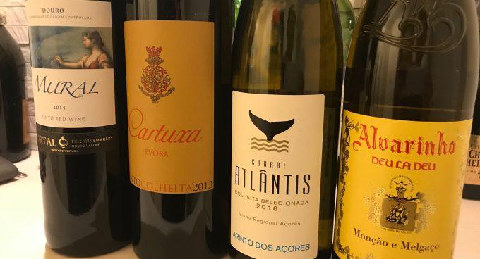 ポルトガルワインのボトル