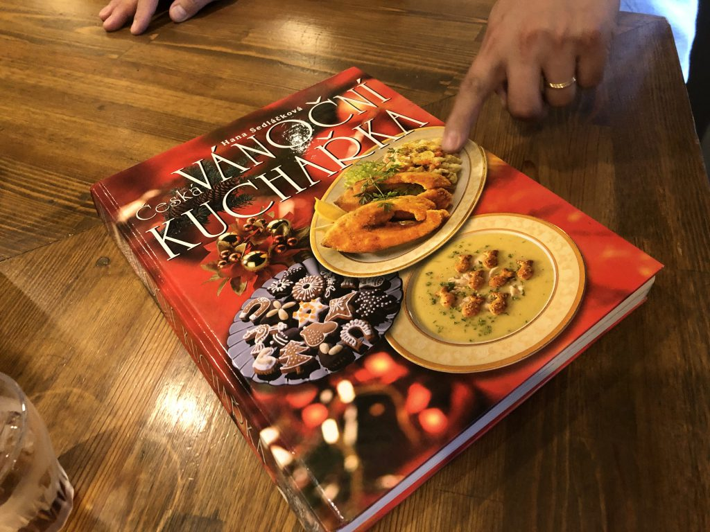 チェコ料理レシピ本の表紙
