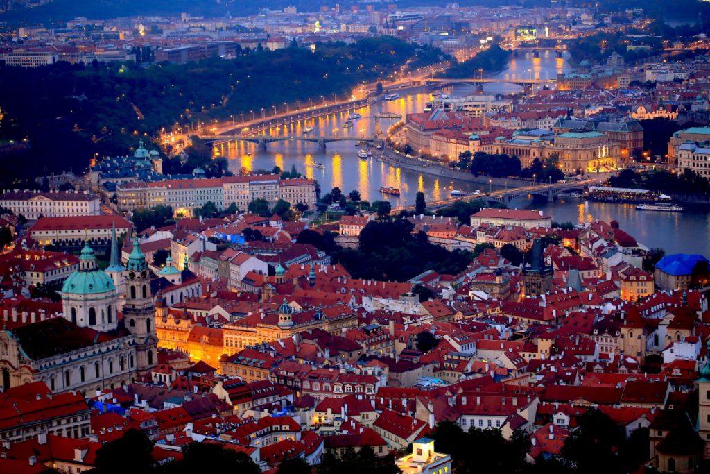 チェコ・プラハの風景