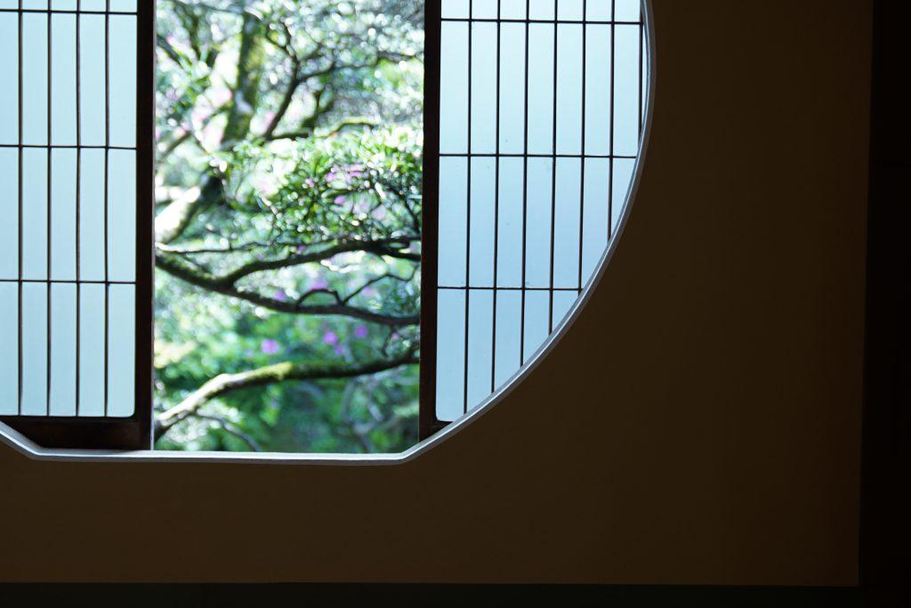 長崎の卓袱料理料亭春海の内装
