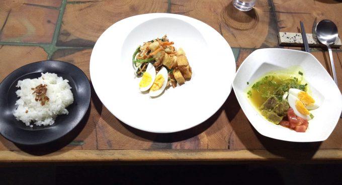 金沢A_RESTAURANTの賄い料理