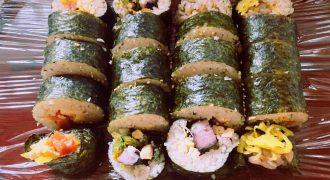韓国料理キンパ